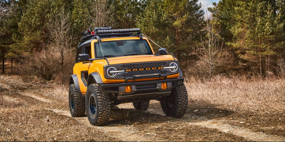 The Ford Bronco is loaded with special features, gleaned from customers. FORD