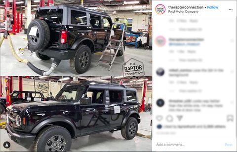 2021 Ford Bronco leaks, again