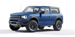 2021 Ford Bronco rendering
