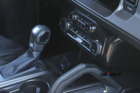 Ford Bronco detalle interior filtrado