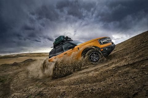 2021 ford bronco sport goes uphill