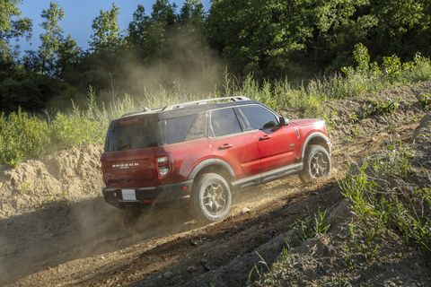 the 2021 ford bronco sport offers a lot of ways to venture off road and go play in the dirt