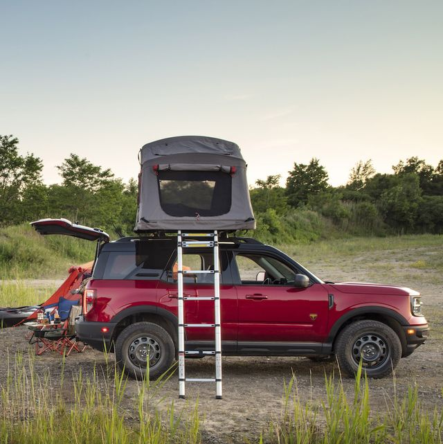 ford bronco sport camping
