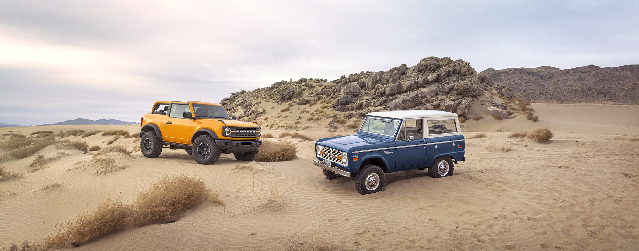 The Ford Bronco Makes Its Glorious Return