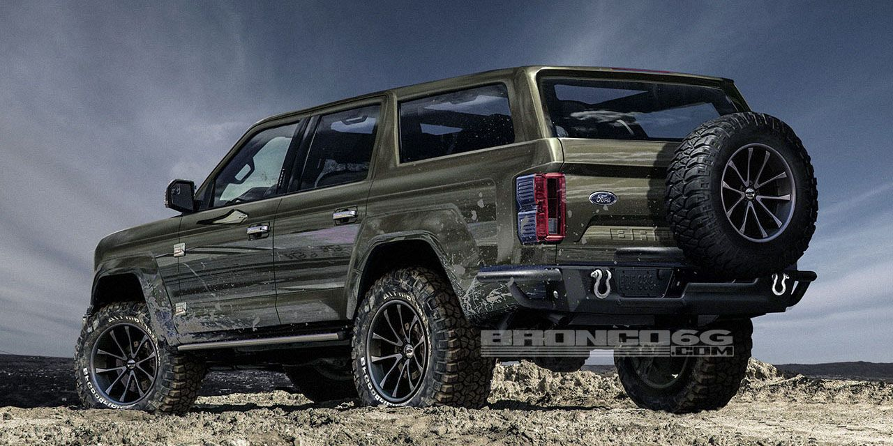 2020 Ford Bronco - Four-Door Bronco Photos