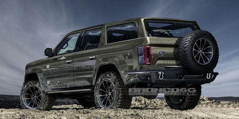 2020 Ford Bronco Four Door Bronco Photos