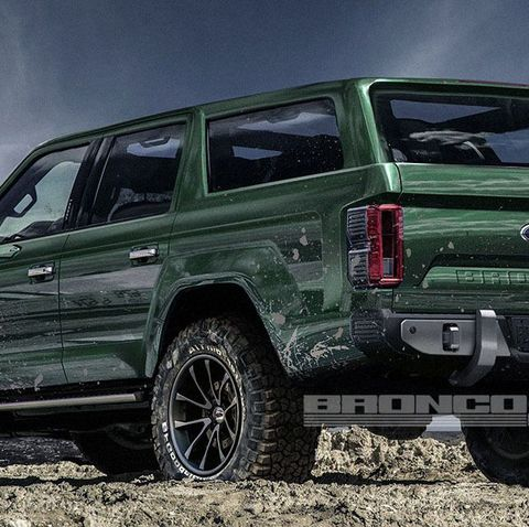 Ford Bronco News Rumors And Photos Road Amp Track