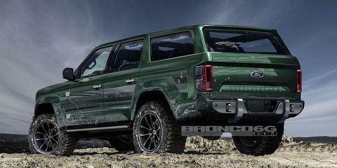 New Ford Bronco 2020 2020 Ford Bronco   Four Door Bronco Photos