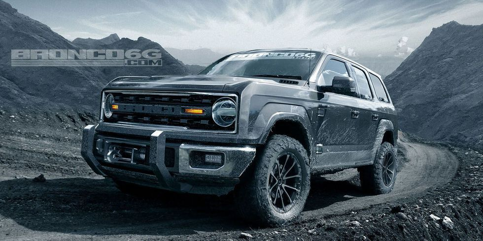 New Ford Bronco 2020 Ford Bronco Details News Photos And More