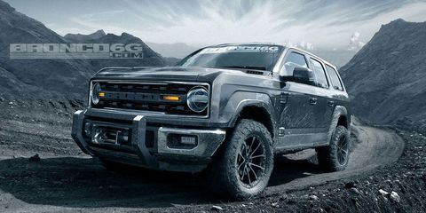 New Ford Bronco >> 2020 Ford Bronco Ford Isn T Building A Two Door Bronco