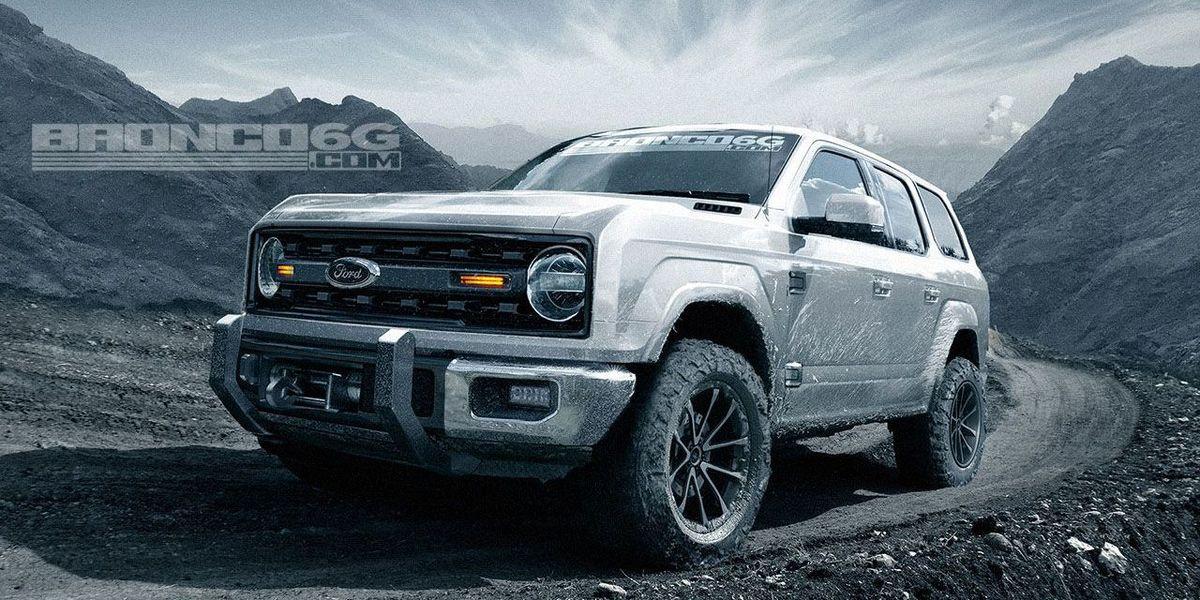 New Ford Bronco - 2020 Ford Bronco Details, News, Photos ...