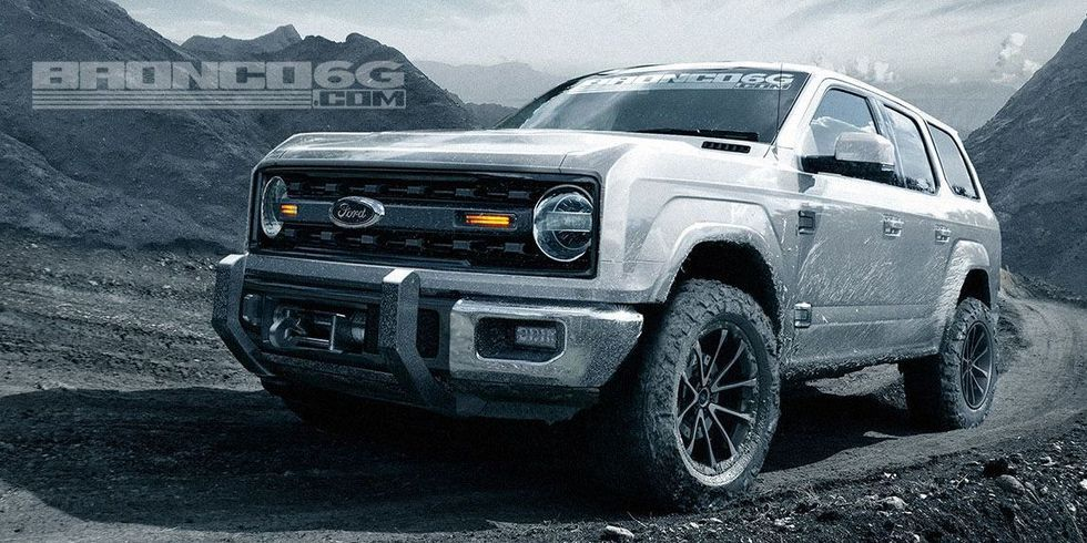 New Ford Bronco >> New Ford Bronco 2020 Ford Bronco Details News Photos And More