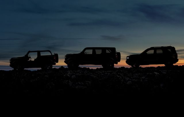 the 2021 ford bronco lineup