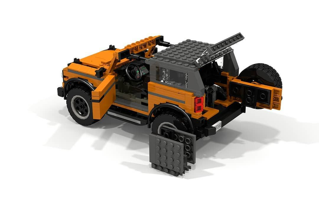 2021 Bronco Becomes Lego Model Thanks to a Ford Engineer