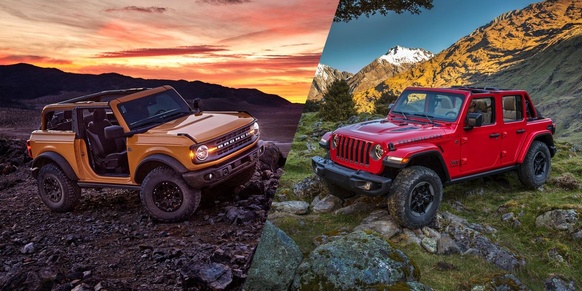Bronco vs. Wrangler: Can Ford's Legend Reborn hang with Jeep's Best?