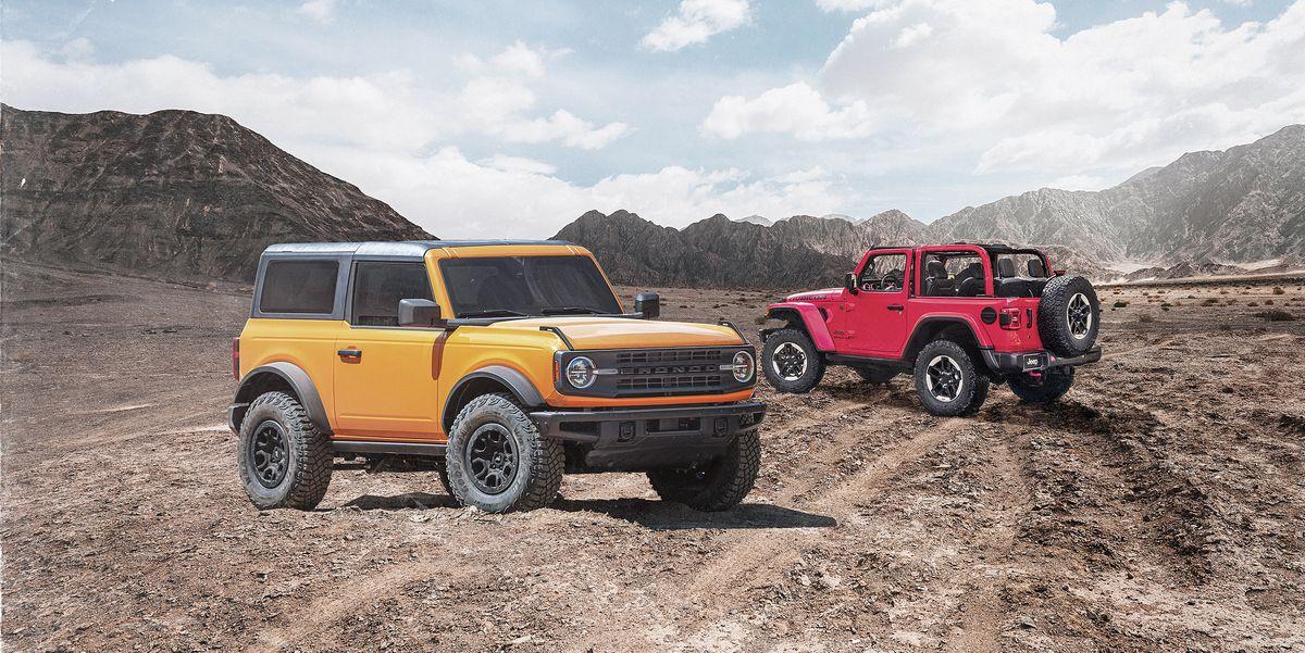 Ford Bronco vs. Jeep Wrangler: The War Begins