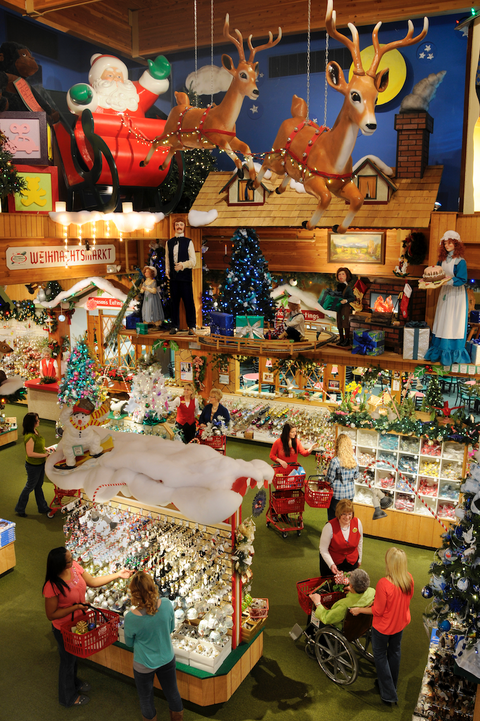 year round christmas stores bronners