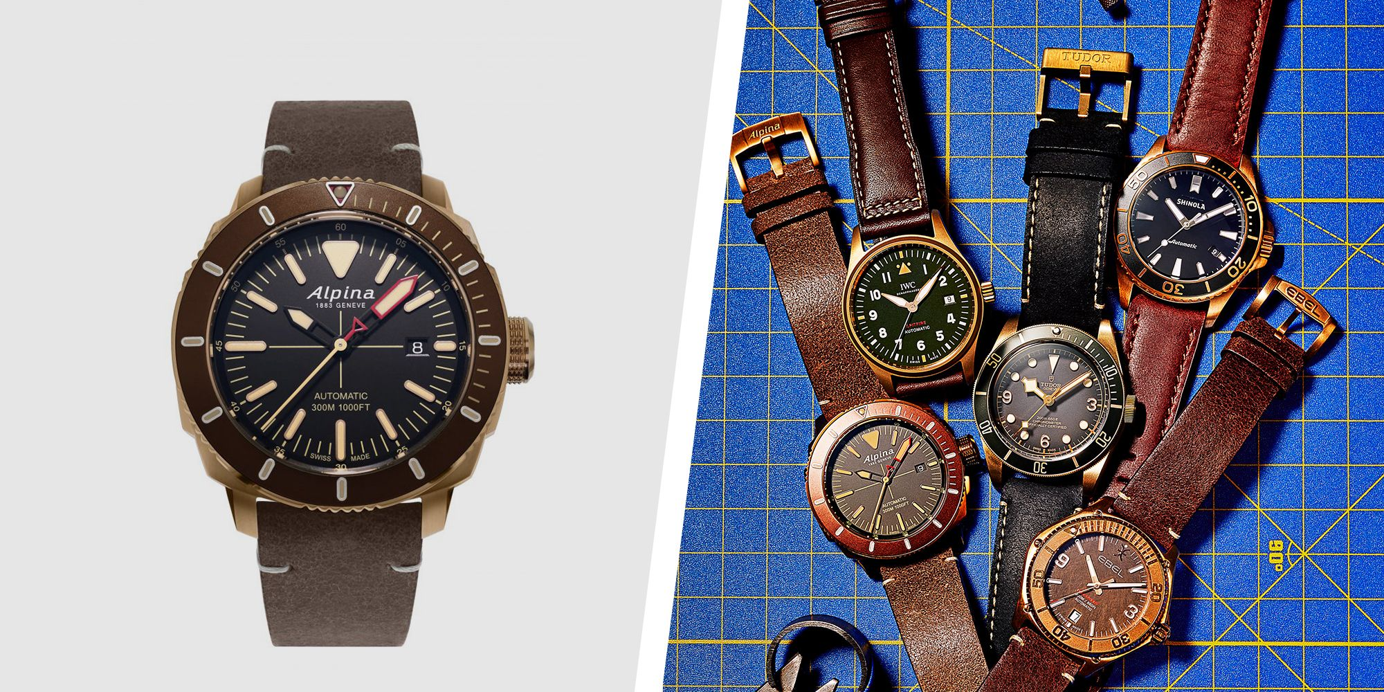 The 6 Best Bronze Watches for Every Guy's Budget