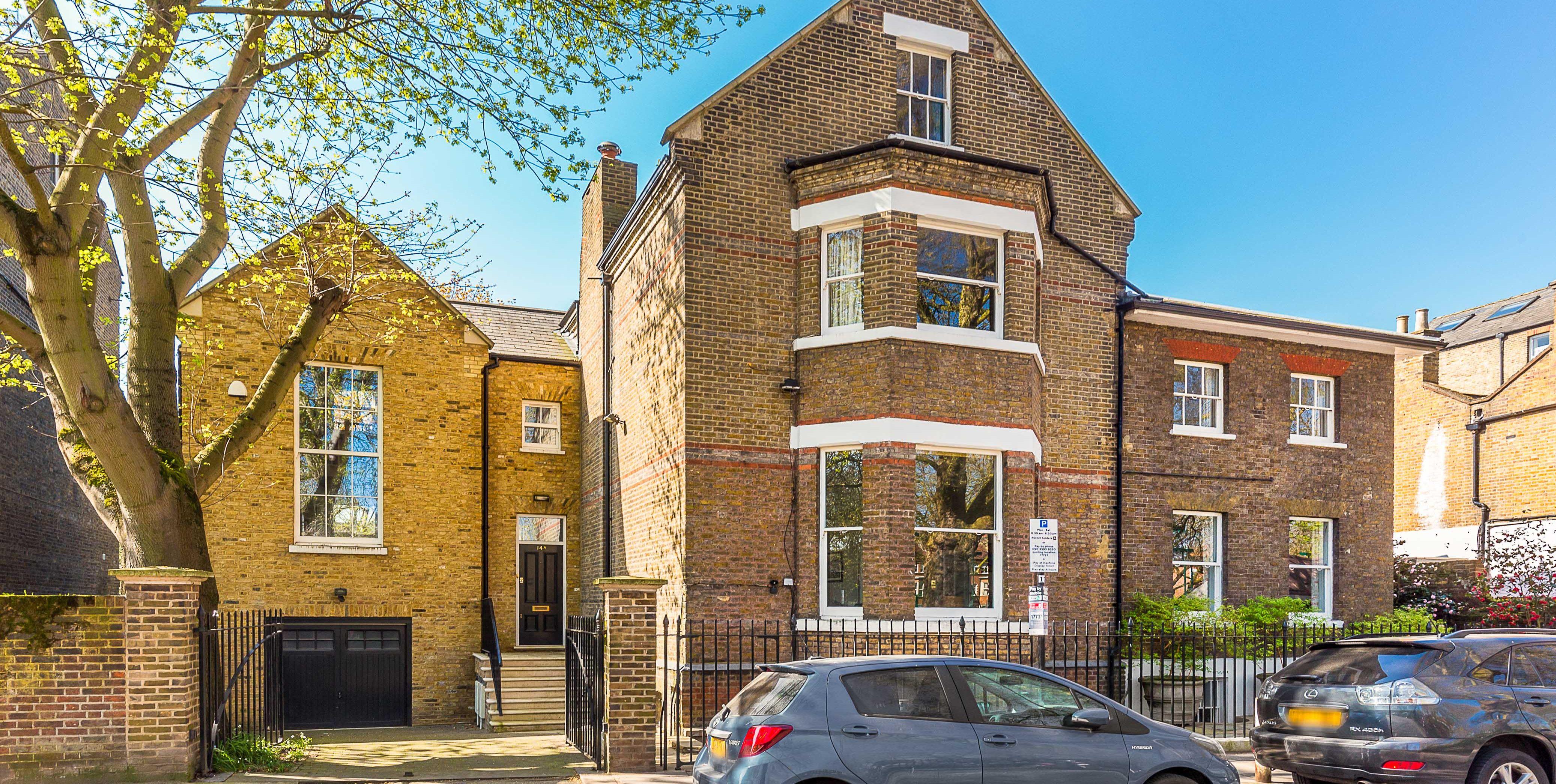Brook Green - West London - exterior - Finlay Brewer