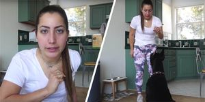 Brooke Houts, dog, YouTube
