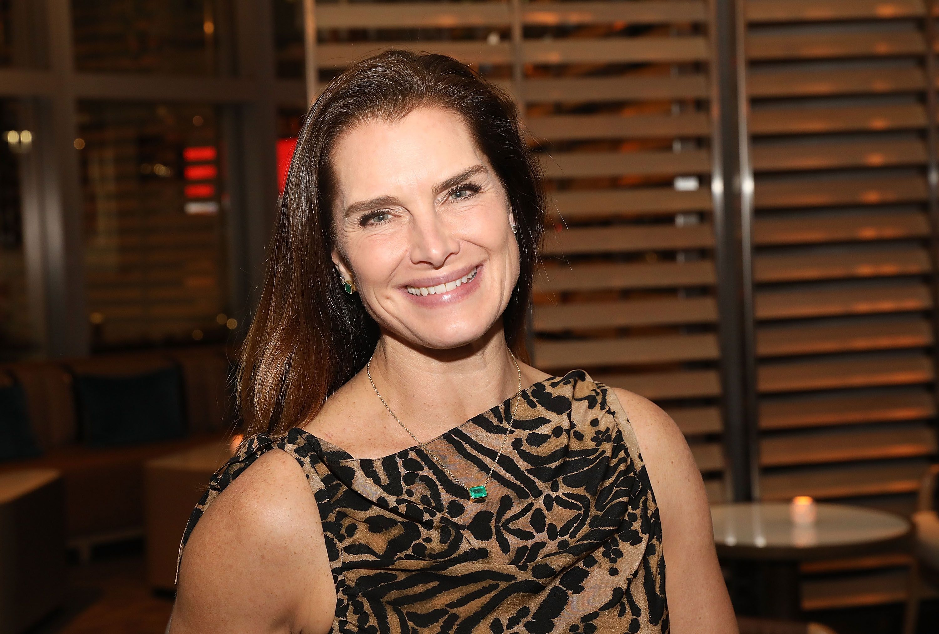 """Brooke Shields Told Andy Cohen That She's """"Afraid"""" of Plastic Surgery"""