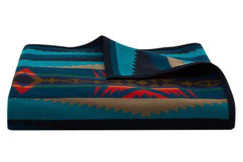 Turquoise, Aqua, Teal, Rectangle, Textile, Linens, Turquoise,
