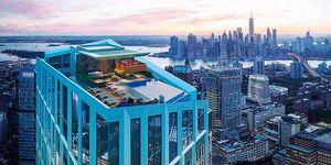 La piscina infinita con las mejores vistas de Nueva York está a 207 metros de altura
