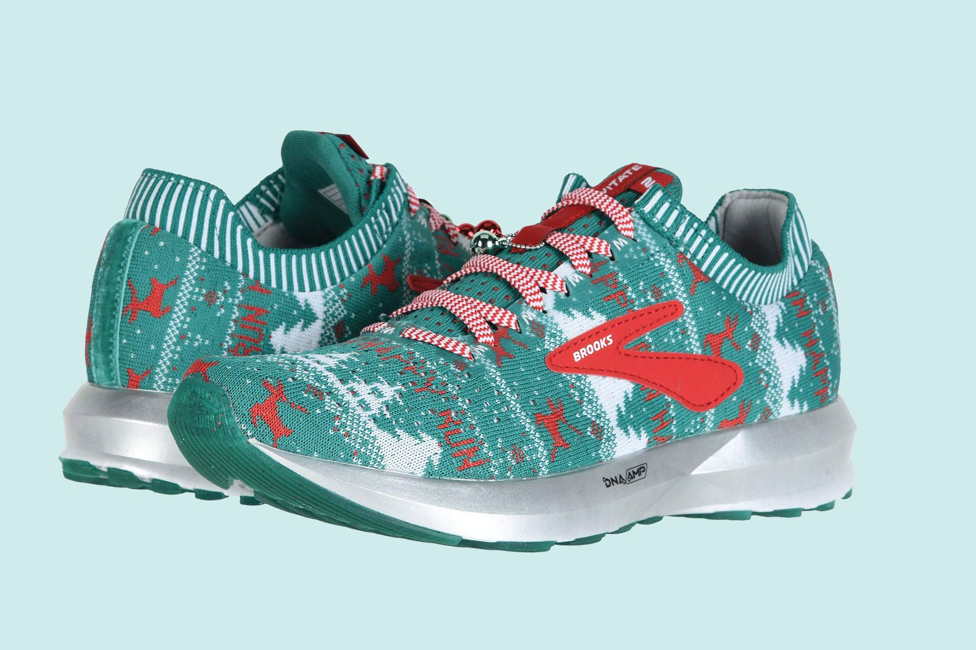 These Brooks Running Shoes Are Like an Ugly Christmas Sweater for Your Feet