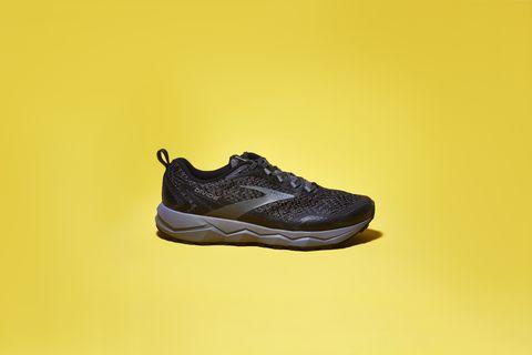 Footwear, Shoe, Sportswear, Yellow, Outdoor shoe, Walking shoe, Athletic shoe, Sneakers, Brand,