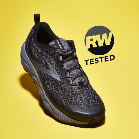 Footwear, Shoe, Sportswear, Yellow, Walking shoe, Outdoor shoe, Sneakers, Athletic shoe, Font, Brand,