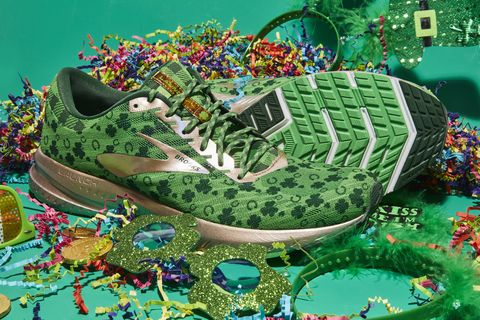 c4010f47486 Brooks Shamrock Launch 6 - Limited Edition Running Shoes