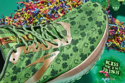a07ea113a15b2 Brooks Shamrock Launch 6 - Limited Edition Running Shoes