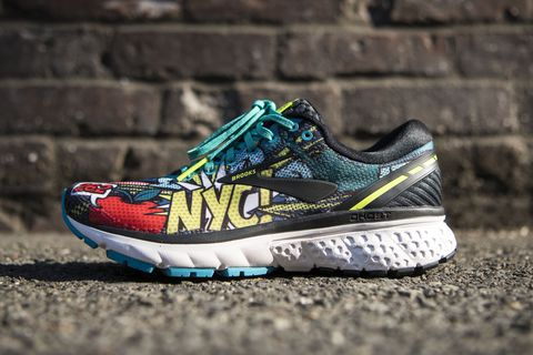 1b1e328e299 Brooks NYC Pop Art Ghost 11 - Special Edition NYC Marathon Shoes