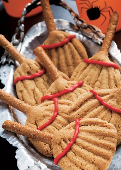 Broom Cookies