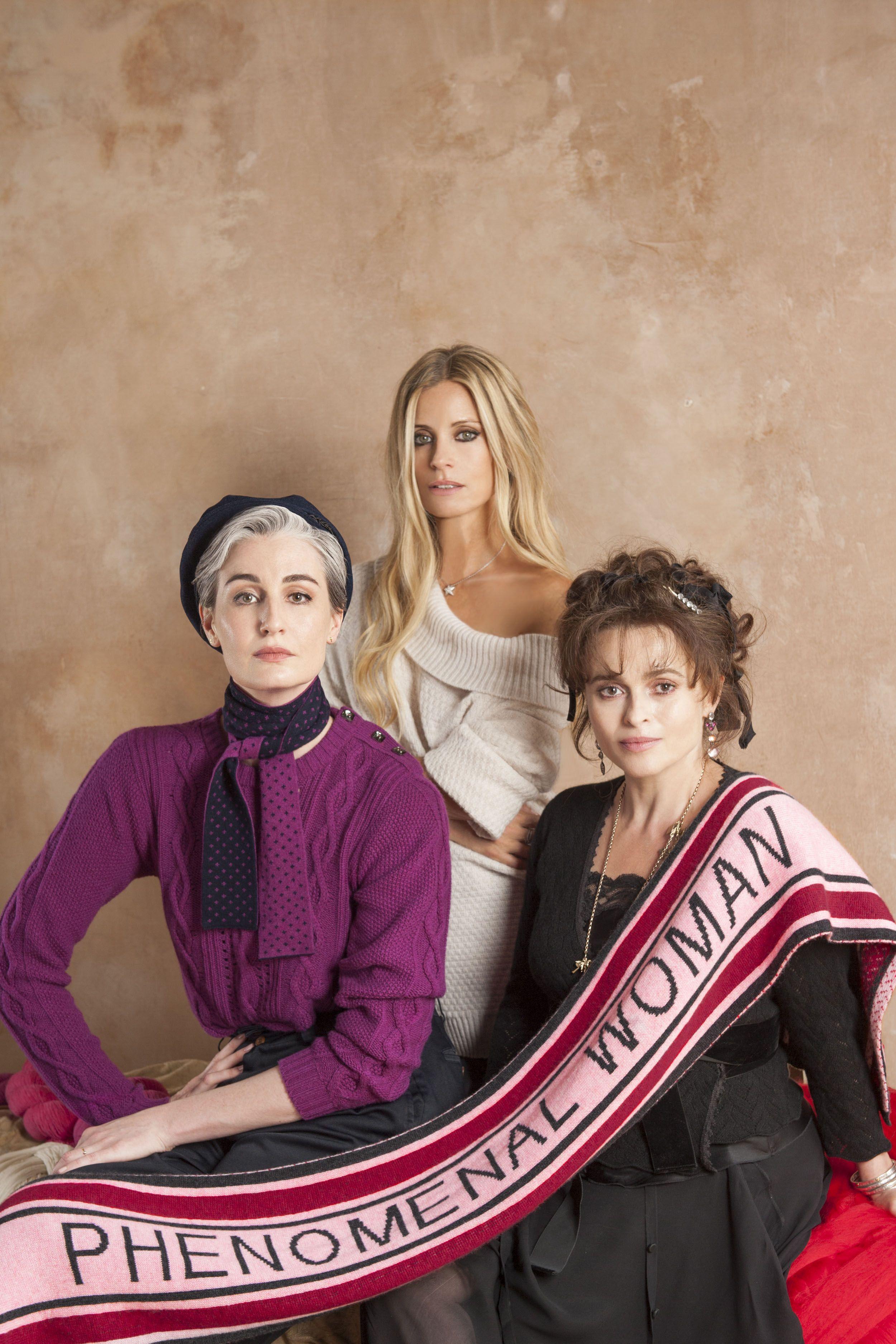Helena Bonham Carter has designed winter's best feminist accessory