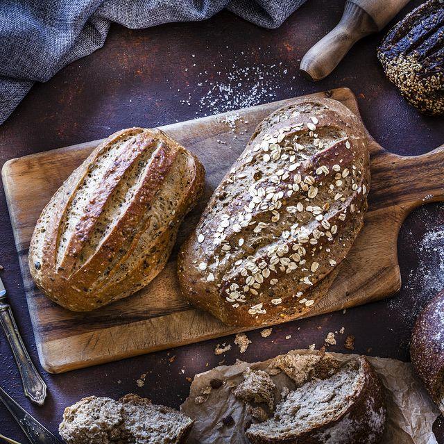 brown bread still life