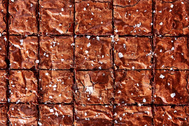 perfect square brownies