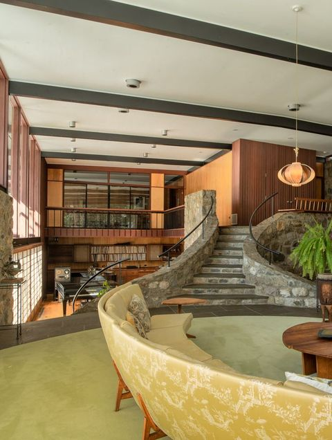 Incredible See Inside Jazz Great Dave Brubecks Modern Connecticut Home Interior Design Ideas Oteneahmetsinanyavuzinfo
