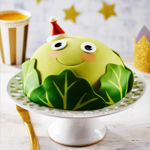 asda christmas brussel sprout cake