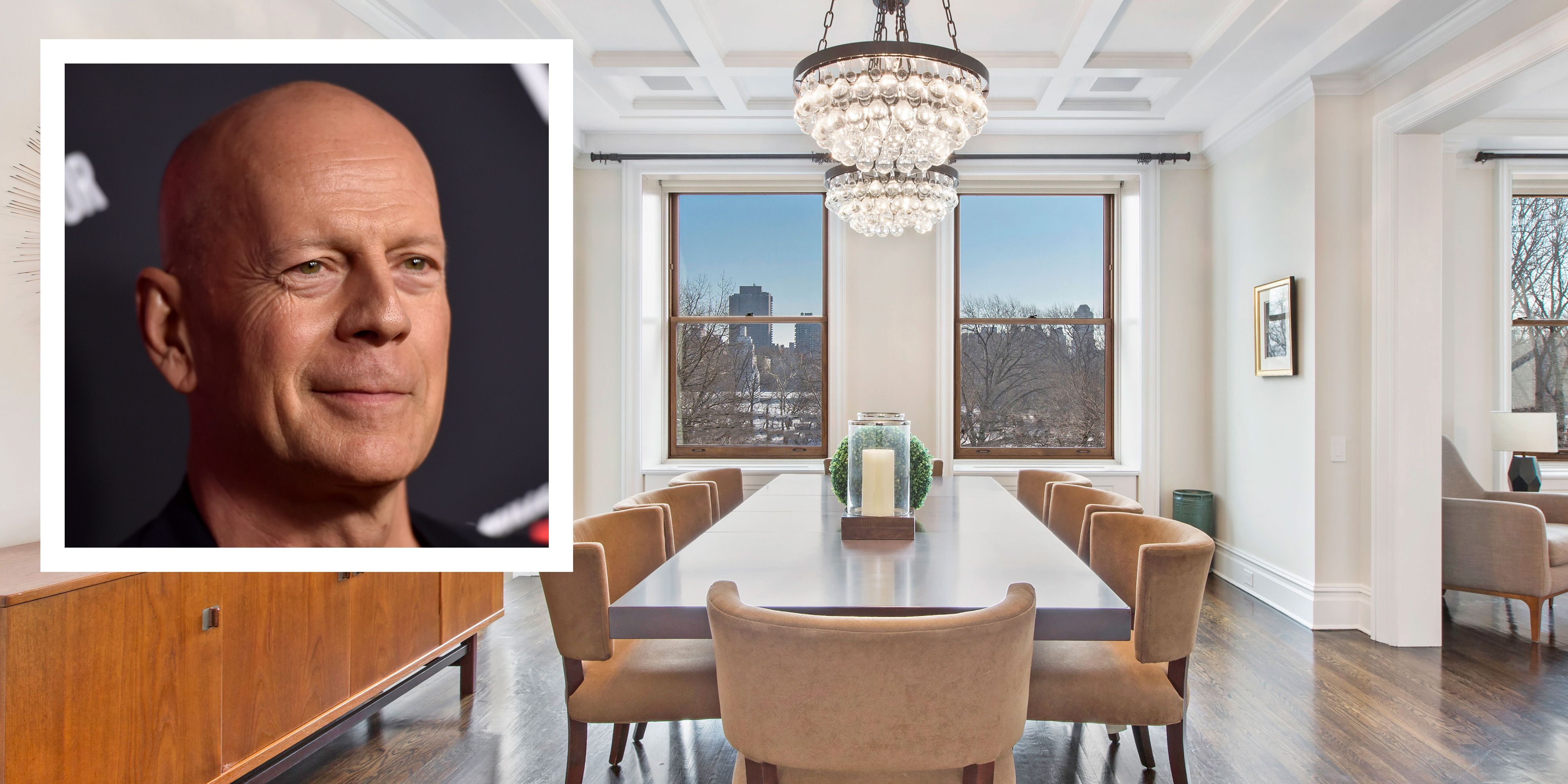 Bruce Willis' former NYC Apartment
