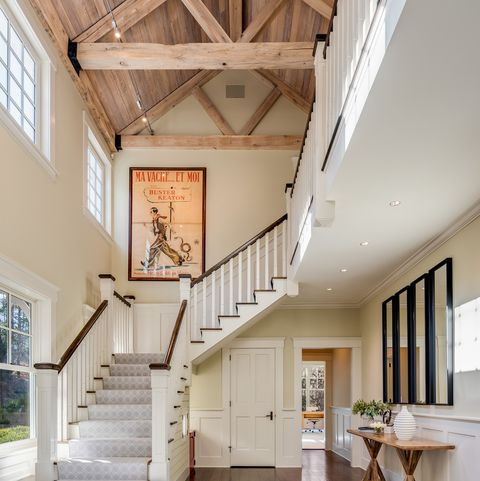 Property, Building, Room, Interior design, Ceiling, Floor, Stairs, House, Home, Daylighting,