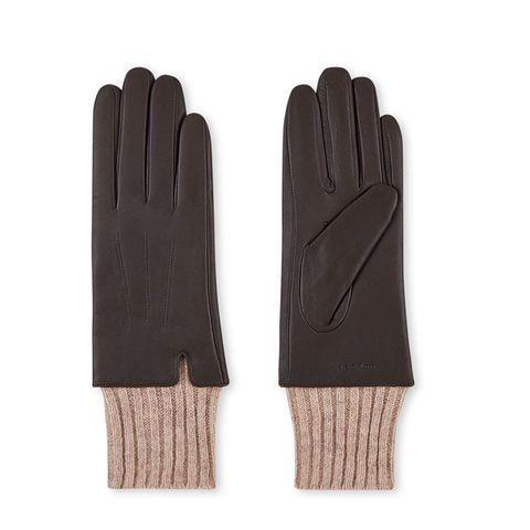 leren handschoenen van sandro