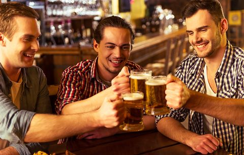 Why You Bruise More Easily When You Drink Alcohol | Men's Health
