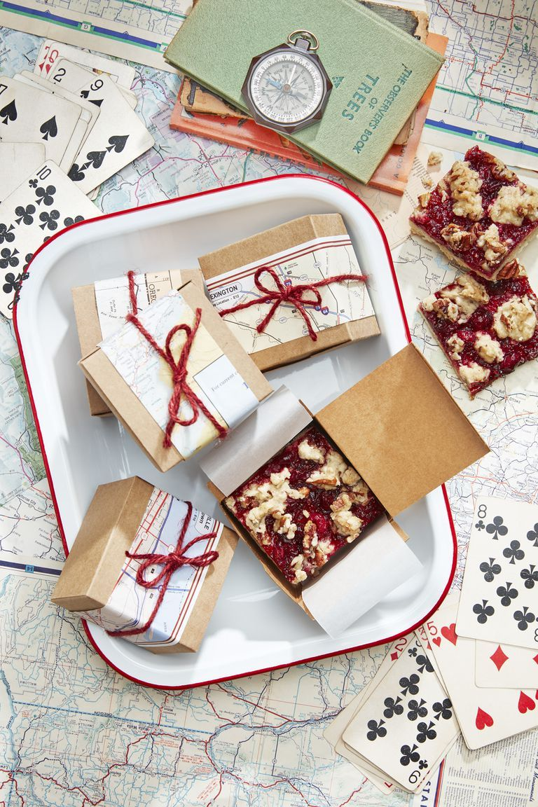 brunch ideas cranberry bars