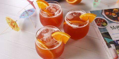 Drink, Juice, Food, Punch, Tinto de verano, Orange drink, Ingredient, Hurricane, Non-alcoholic beverage, Bay breeze,