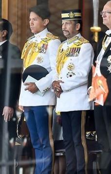 マティーン王子、ブルネイ
