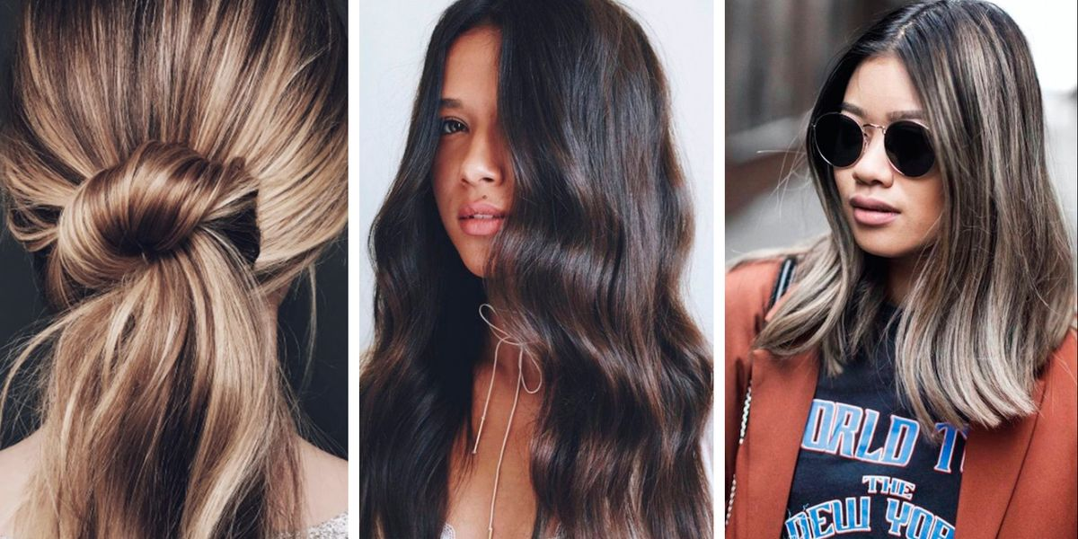 2018 Hairstyle For Dark Hair Color: 14 Brown Hair Colour Trends To Try