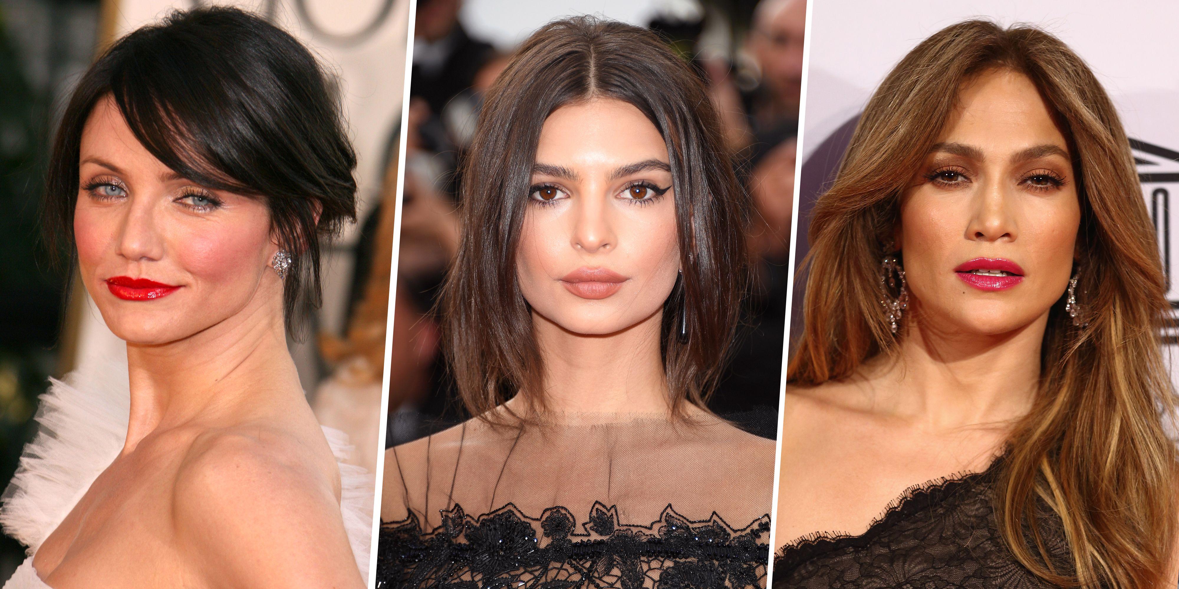 25 Dark Brown Hair Colors Celebrities With Dark Hair