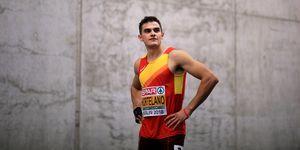 Bruno Hortelano competirá en Rieti el 26 de mayo
