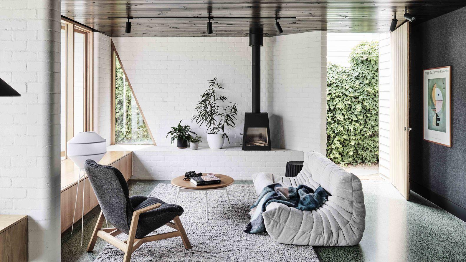 Una casa mini tipo bungalow o contenedor